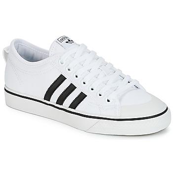 Obuća Niske tenisice adidas Originals NIZZA Bijela / Crna