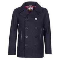 Odjeća Muškarci  Kaputi Harrington PCOAT Blue