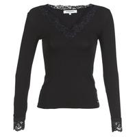Odjeća Žene  Majice dugih rukava Morgan TRACY Crna