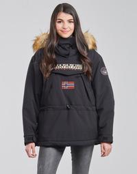Odjeća Žene  Parke Napapijri SKIDOO Crna