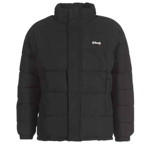 Odjeća Pernate jakne Schott NEBRASKA Crna