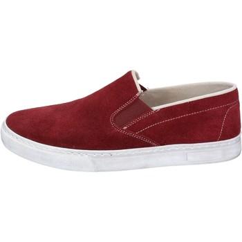Obuća Muškarci  Slip-on cipele Nyon NYON slip on bordeaux camoscio BZ901 Rosso