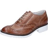 Obuća Žene  Oksfordice Crown classiche marrone pelle BZ932 Marrone