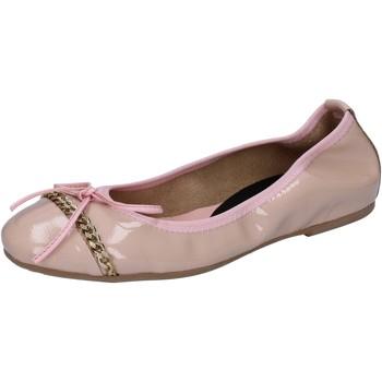 Obuća Žene  Balerinke i Mary Jane cipele Crown ballerine rosa cipria vernice BZ941 Rosa
