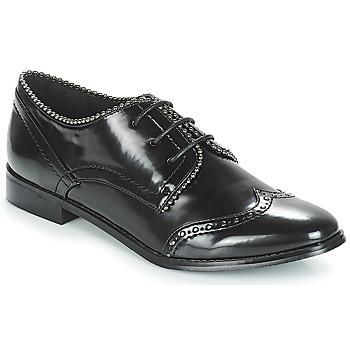 Obuća Žene  Derby cipele Moony Mood JENNY Crna