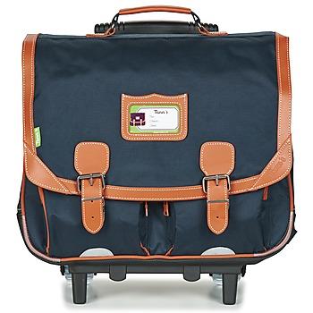 Torbe Dječak  (Školske) torbe s kotačićima Tann's INCONTOURNABLES Blue