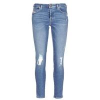 Odjeća Žene  Slim traperice Diesel BABHILA Blue / 084wp