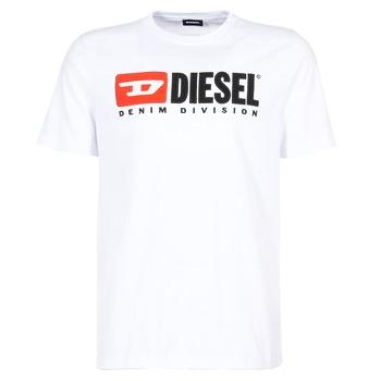 Odjeća Muškarci  Majice kratkih rukava Diesel T JUST DIVISION Bijela