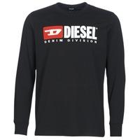Odjeća Muškarci  Majice dugih rukava Diesel T JUST LS DIVISION Crna
