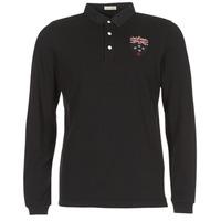 Odjeća Muškarci  Polo majice dugih rukava Serge Blanco POLO NEW ZEALAND Crna