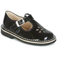 Obuća Djevojčica Balerinke i Mary Jane cipele Aster DINGO Crna / Lak