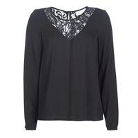 Odjeća Žene  Topovi i bluze Vila VIEVERLY Crna