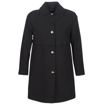 Odjeća Žene  Kaputi Sisley FAREDA Crna