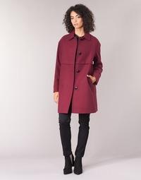 Odjeća Žene  Kaputi Sisley FAREDA Bordo