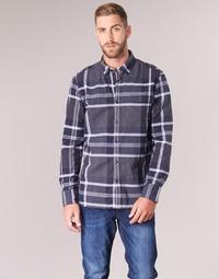 Odjeća Muškarci  Košulje dugih rukava Oxbow CAMPO Blue