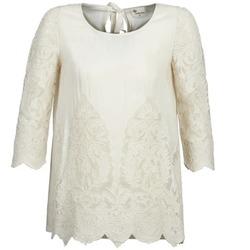 Odjeća Žene  Topovi i bluze Stella Forest AELEZIG Krem boja
