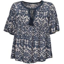 Odjeća Žene  Topovi i bluze Stella Forest ANNAICK Krémově bílá / Blue