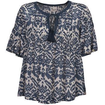 Odjeća Žene  Topovi i bluze Stella Forest ANNAICK Krem boja / Blue
