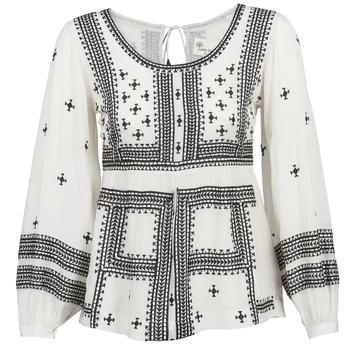 Odjeća Žene  Topovi i bluze Stella Forest ANTONETA Krémově bílá / Crna