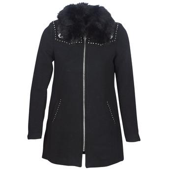 Odjeća Žene  Kaputi Desigual COLLINE Crna