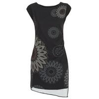 Odjeća Žene  Kratke haljine Desigual SANDRINI Crna