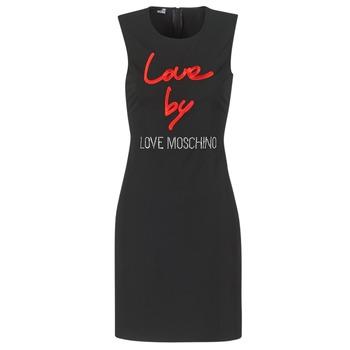 Odjeća Žene  Kratke haljine Love Moschino CARININA Crna