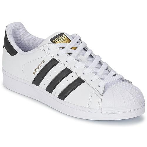 Obuća Niske tenisice adidas Originals SUPERSTAR Bijela / Crna