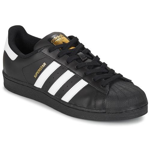Obuća Niske tenisice adidas Originals SUPERSTAR FOUNDATIO Bijela / Crna
