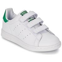 Obuća Djeca Niske tenisice adidas Originals STAN SMITH CF C Bijela / Zelena