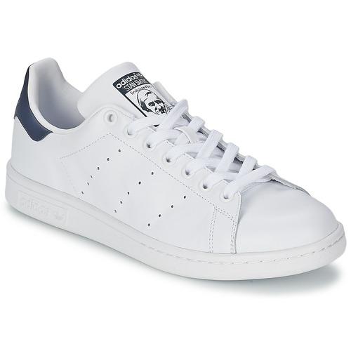 Obuća Niske tenisice adidas Originals STAN SMITH Bijela / Blue