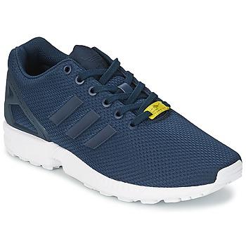 Obuća Muškarci  Niske tenisice adidas Originals ZX FLUX Blue / Bijela