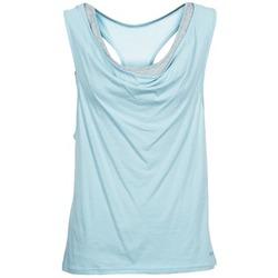 Odjeća Žene  Majice s naramenicama i majice bez rukava Bench SKINNIE Blue