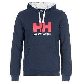 Odjeća Muškarci  Sportske majice Helly Hansen HH LOGO HOODIE Blue