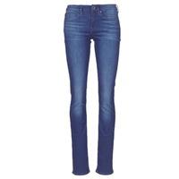 Odjeća Žene  Traperice ravnog kroja G-Star Raw MIDGE SADDLE MID STRAIGHT Blue / Aged