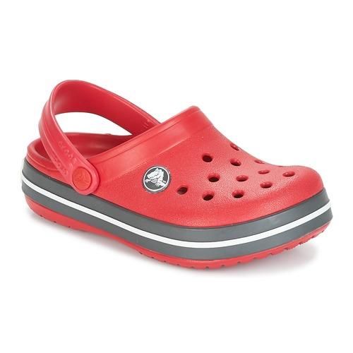 Obuća Djeca Klompe Crocs CROCBAND CLOG KIDS Red