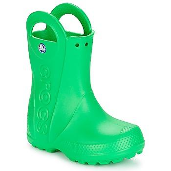 Obuća Djeca Gumene čizme Crocs HANDLE IT RAIN BOOT KIDS Zelena