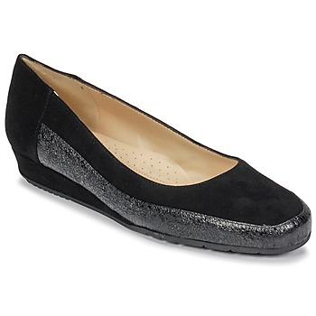 Obuća Žene  Balerinke i Mary Jane cipele Perlato TRASA Ferrer / Cam / Crna