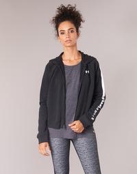 Odjeća Žene  Sportske majice Under Armour RIVAL FLEECE FZ HOODIE Crna