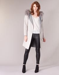 Odjeća Žene  Kaputi Oakwood YALE BI Bež / Siva