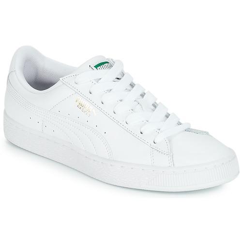 Obuća Niske tenisice Puma BASKET CLASSIC LFS.WHT Bijela