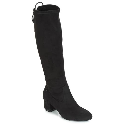 Obuća Žene  Čizme iznad koljena Tamaris PEDAS Crna