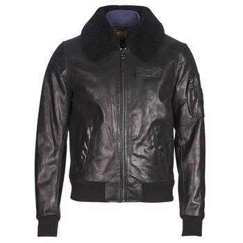 Odjeća Muškarci  Kožne i sintetičke jakne Redskins COMMANDER STRIKING Crna