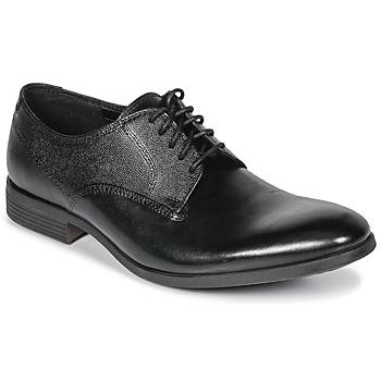 Obuća Muškarci  Derby cipele Clarks GILMORE Crna / Kůže