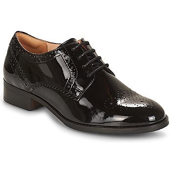 Obuća Žene  Derby cipele Clarks Netley Rose Crna / Pat