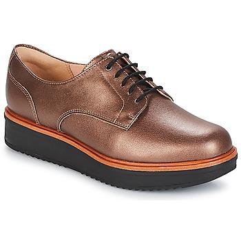 Obuća Žene  Derby cipele Clarks TEADALE Tmavá / Tan