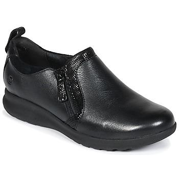 Obuća Žene  Derby cipele Clarks Un Adorn Zip Crna