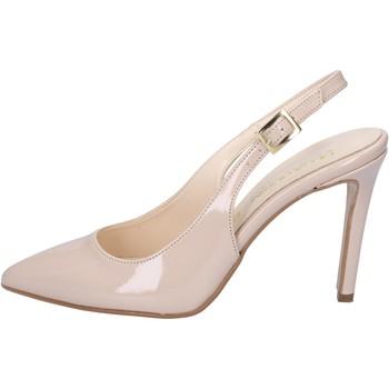Obuća Žene  Sandale i polusandale Olga Rubini sandali beige vernice BY286 Beige