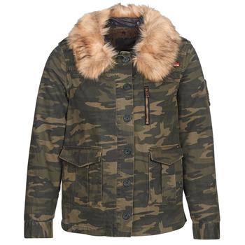 Odjeća Žene  Kratke jakne Ikks REFLEKTION Zelena