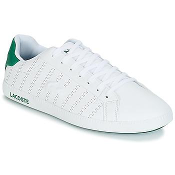 Obuća Muškarci  Niske tenisice Lacoste GRADUATE 318 1 Bijela / Zelena
