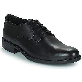 Obuća Muškarci  Derby cipele Geox CARNABY D Crna